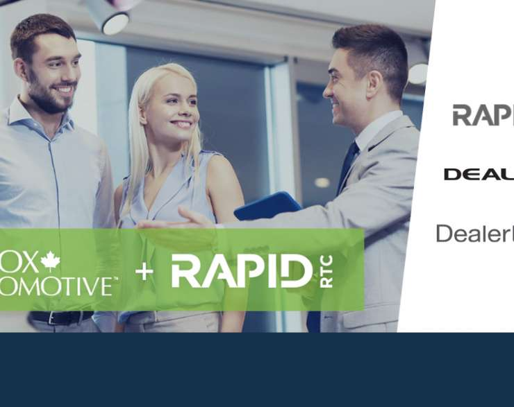 RAPID RTC and Cox Automotive Canada Empower Customers & Salespeople with Unique & Improved Online Experience