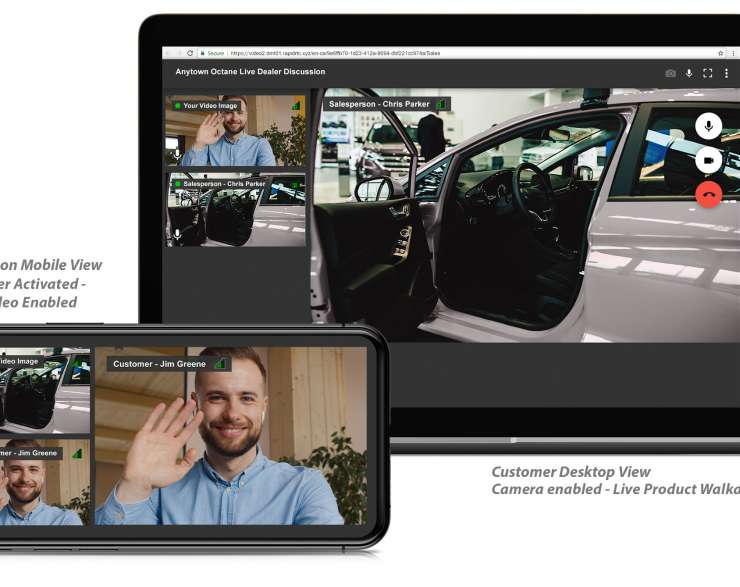 RAPID RTC Live Dealer Connects Salespeople & Online Shoppers in Real-Time With A Fully Immersive Omni-Channel Experience